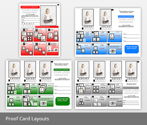 Proof Card Layouts