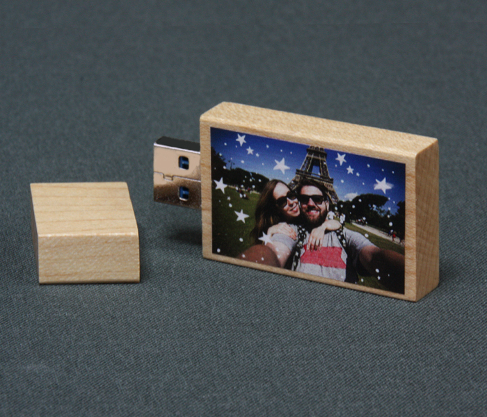 Light Wooden USB