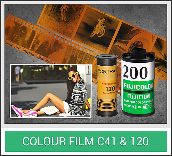 Colour C41 Film
