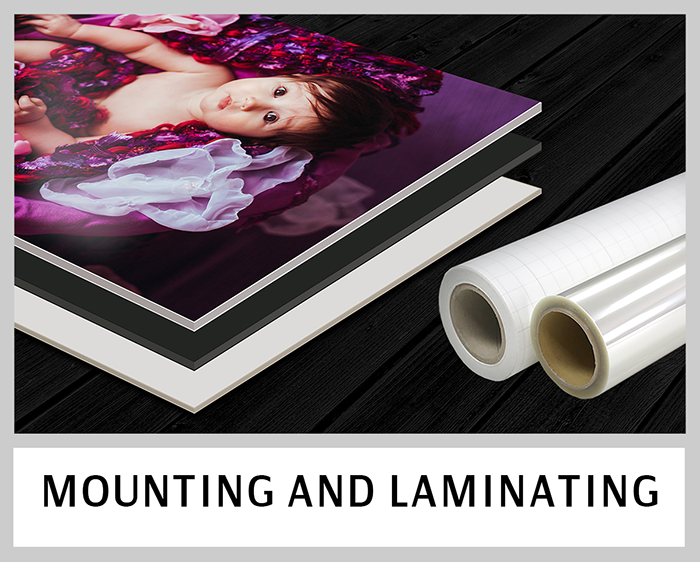Mounting and Laminating