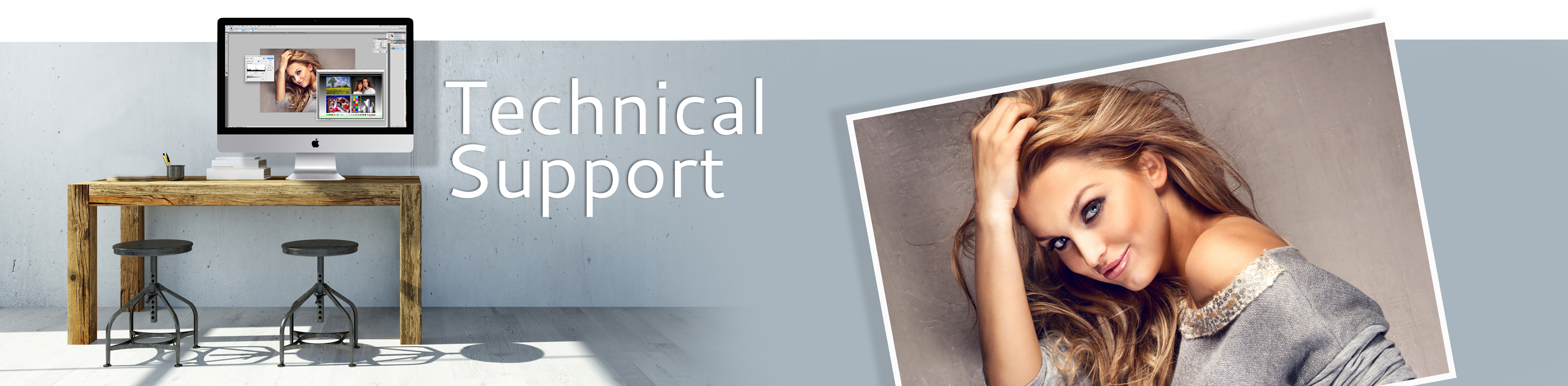Technical Support Header