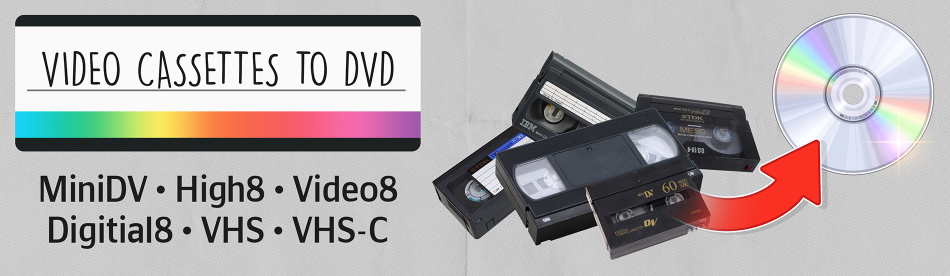 Video Cassette to DVD