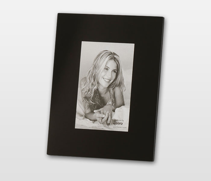 12 X 8 Kenro Black Glass Photo Frame Ds Colour Labs