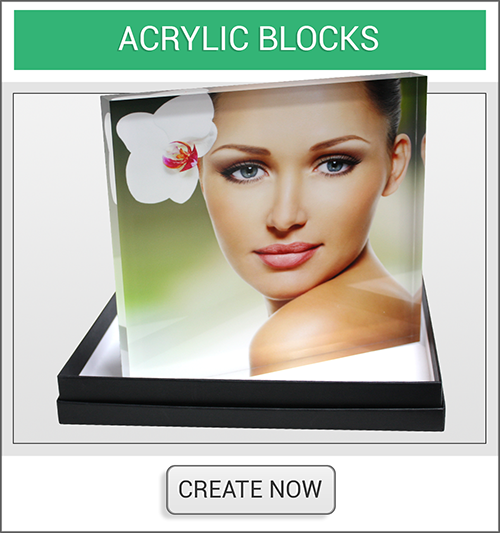 Acrylic Block Create Now