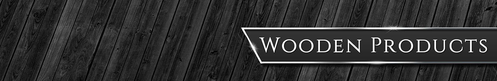 Wooden Products Page Banner