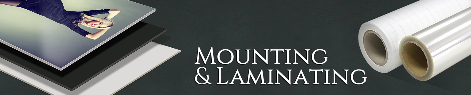 mountinglaminating