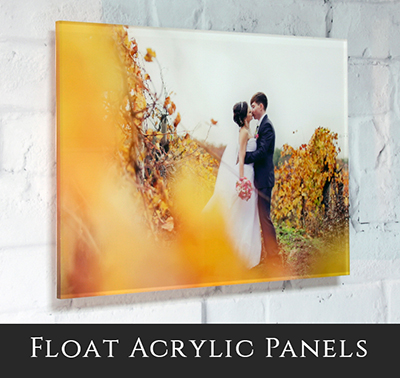Aluminium Float Framed Prints Banner