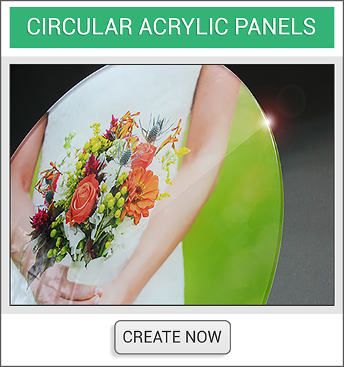 Circle Acrylic Create Now