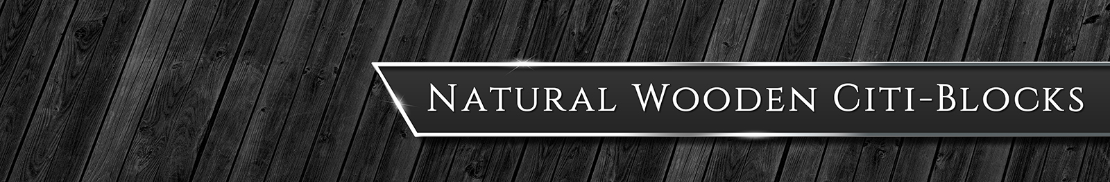 Natural Wooden Citiblocks Page Banner