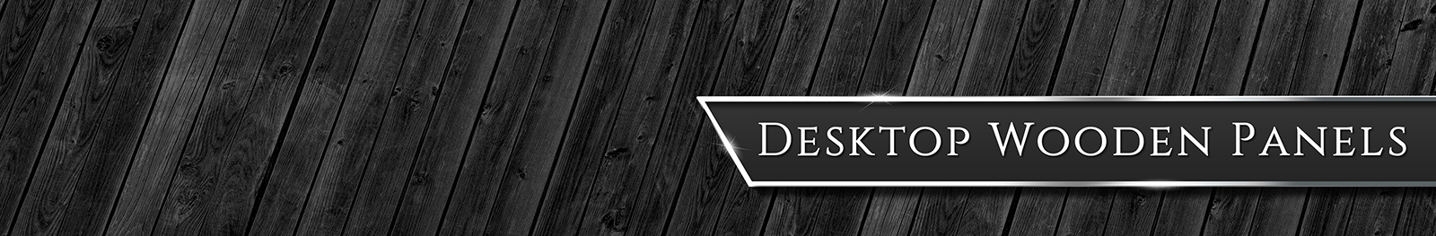 Desktop Wooden Panels Page Banner